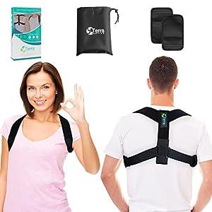 Terra Active Geradehalter zur Haltungskorrektur – Damen & Herren – Posture Corrector für eine Gesunde Haltung – Brust Heben