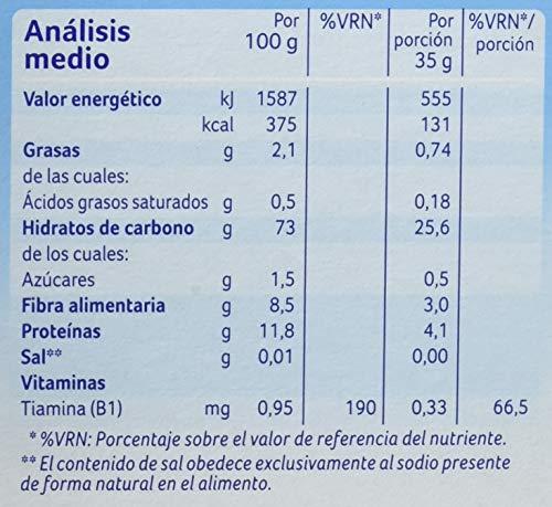Alminatur Papilla de multicerealesa partir de los 6 meses Paquete de 5...