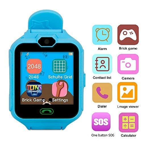 Hangang Handy Smart Kid Smartwatch Kamera Spiele Touchscreen Toys Cool watch, Super multifunktional Spiel Uhren für Kinder Geschenke für Mädchen Jungen Kinder