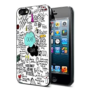 the fault in our stars okay okay iphone 5 case hard
