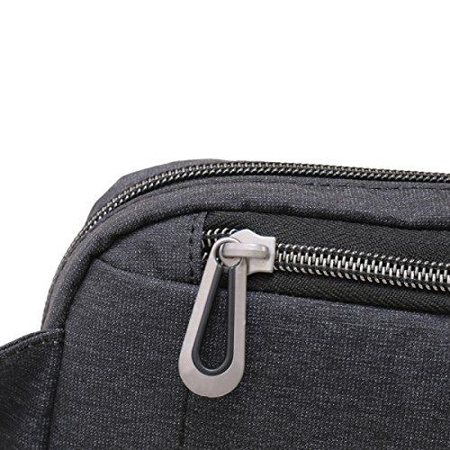 Borse Yy.f Borse Degli Uomini Sacchetto Esterno Di Viaggio Panno Di Nylon Impermeabile Usura Uomo Borsa Sacchetto Di Nylon Sacchetto Solido Grey