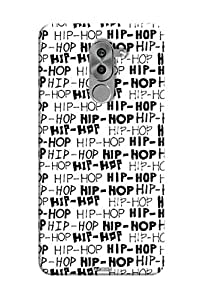 Tecozo Designer Printed Back Cover / Hard Case for Huawei Honor 6x (HIP HOP print Design/ Pattern)