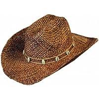Drover Cappello in Paglia paglia western equitazione western cappello da  cowboy e9910126b123