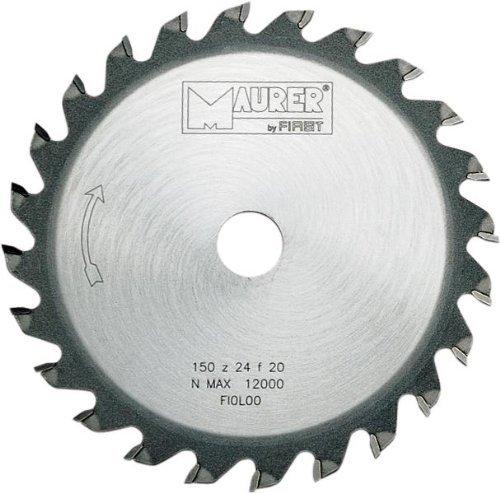 P & B Di Palumbo Carmine - TCT lame de scie circulaire pour le bois Ø 150 mm 12 dents Forum 20/16 + 20/13 plus Maurer