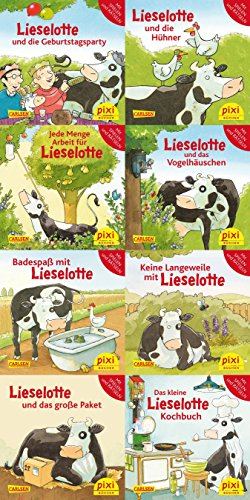 Lieselotte (8x1 Exemplar) (Pixi-8er-Set, Band 251)