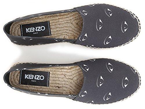 Espadrilles femme Kenzo en toile couleur noir motif oeil - Code modèle: F652ES184F72 99 Noir