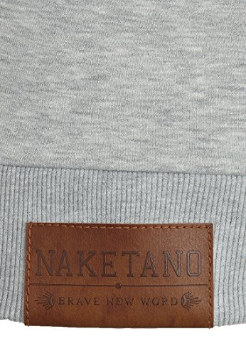 Sweat Capuche Naketano Darth Jeck Vi Amazing Grey Grey Melange