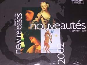 Nouveautes Janvier-Juin (New Releases January-June) 2002