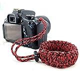 Cinturino da polso per fotocamera digitale tracolla fotocamera personalità durevole universale spalla cinghia fotocamera per DSLR Nikon Canon Sony Olympus Samsung Pentax Fujifilm.