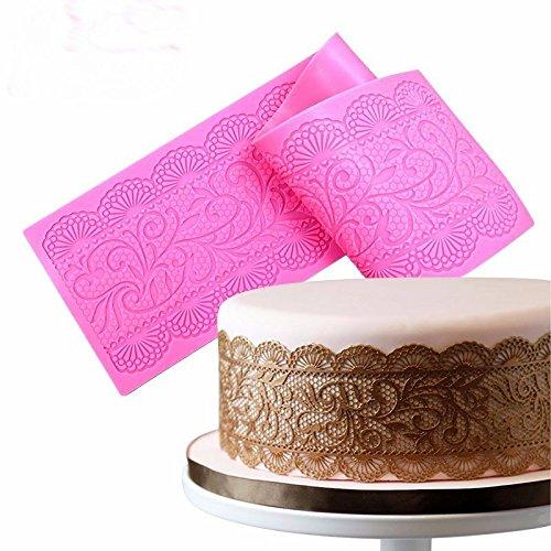 SHINA Schokoladen Kuchen Form Fondant Formen Musik Spitze Kuchen dekoration Form (Mold 35 Chocolate)