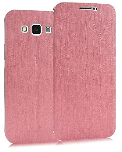 Heartly Premium Luxury PU Leather Flip Stand Back Case Cover For Samsung Galaxy Grand Max SM-G7200 Dual Sim - Cute Pink