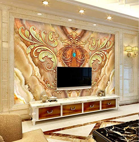 3d tapeten benutzerdefinierte mural europäischen königlichen fliegenden blume tv hintergrundbild papier wandbild, 300 * 210cm
