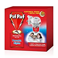 Pif Paf Powergard Electrical Plug- In Liquid Mosquito Killer Device With 30 Nights Refill