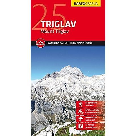 Triglav Mount kartografija GPS r/v wp