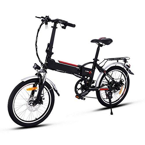 ULTREY E-Bike Klapprad 16 Zoll Elektrofahrrad klappfahrrad 36V 6Ah Lithium-Batterie, Leicht und Praktisch