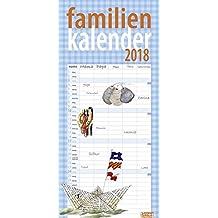 times&more Schaffner Familienplaner - Kalender 2018