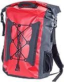 Semptec Urban Survival Technology Wasserdichter Trekking-Rucksack aus LKW-Plane, 40 Liter, IPX6