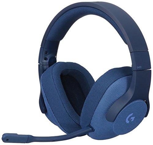 Preisvergleich Produktbild LOGICOOL 7.1 Gaming Headset verkabelt Surround g433bl (Blau) Japan Domestic Echtem Produkte