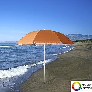 Papillon 8042670 Sombrilla Playa Protección UV, Multicolor, 200 cm