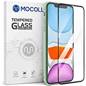 MOCOLL HD Screen Protector Compatible for iPhone 11-XR Full Coverage Tempered Glass Anti Scratch Fin