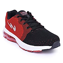 Campus 567 Black and Red Running Shoes (9)