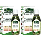 Indus Valley 100% organic growout hair oil for growth of hairs set of 2-200ml