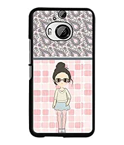 Fuson 2D Printed Girly Designer back case cover for HTC One M9 Plus - D4420