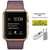 #9: Captcha CT08 Smart Watch with Sim/Memory Card Slot, Camera (One Year Warranty) with with(Charger For Iphone 5/5s/6/6plus/7/7plus)