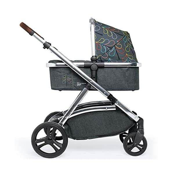 Cosatto Wow XL Tandem Pushchair in Nordik with Board car seat Bag & footmuff Cosatto INCLUDES: Chassis, Carrycot, Seat unit, Buggy board, Dock isize car seat, Change bag, Footmuff, 2 x Raincover, 2 x Toys and 10 year guarantee(UK and Ireland only) Comes as a single unit with carrycot, seat unit and adaptor kit. Suitable from birth up to 25kg Seat unit suitable from 6 months up to 25kg Carrycot suitable from birth to approx. 6 months Compatible with Dock i-Size car seat. (Car seat & adaptor both included) High position seat option bringing baby closer to you less reaching and stretching post pregnancy. From-birth carrycot with comfy mattress, carry handle and removable washable liner. 'In or out' facing pushchair seat lets them bond with you or enjoy the view. Deep comfy pushchair seat for a supportive snuggle. Seat structured and upholstered for ultra comfort. Chest pads and tummy pad. This is comfort. 6