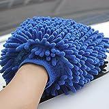 #9: Brand Bites Car Hand Glove Cleaning Cloth MicroFiber Hand Wash / Desk / Kitchen (Set of 2pc)