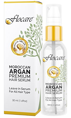 Flocare Moroccan Argan Premium Hair Serum, 50ml