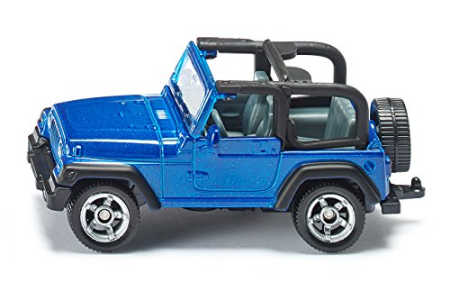 Price comparison product image SIKU 1342 Jeep Wrangler Die Cast Miniature