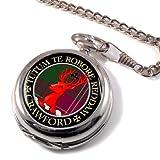 Best Crawfords - Crawford Scottish Clan Crest Full Hunter Pocket Watch Review
