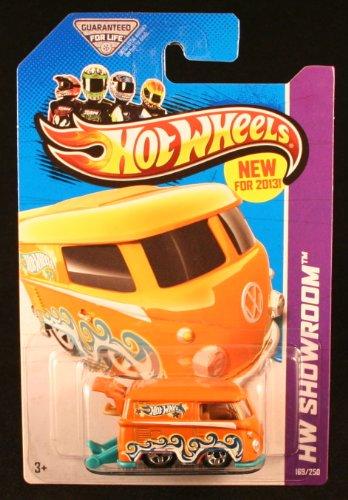 Hot Wheels 2013 Hw Showroom 169/250 - Volkswagen Kool Kombi - Orange