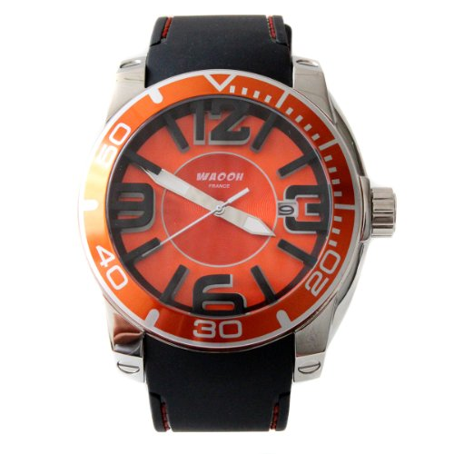 waooh-montre-silicone-et-metal-tyson-orange