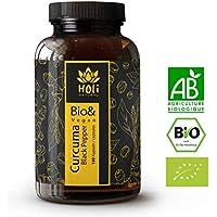Prix de lancement! Curcuma premium BIO. 180 gélules de. 1425 mg/dose quotidienne (3 gélules). Curcuma longa avec poivre noir (pipérine). Vegan & sans additifs. Fabriqué en Allemagne.