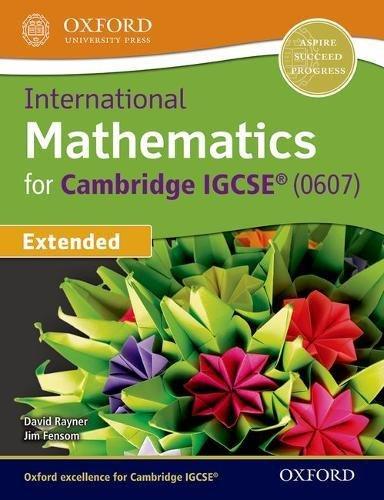 International maths IGCSE 2017. Student's book. Per le Scuole superiori. Con espansione online (Cie Igcse Complete)