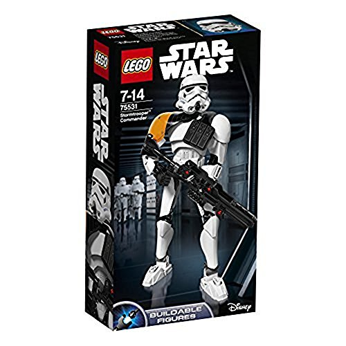 LEGO - Star Wars - Commandant Stormtrooper - 75531 - Jeu de Construction