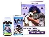 Robert Franz - Magnetovit + Calcium (250 ml) und Magnesium-Buch und Ayursana Natürliches OPC Traubenkernextrakt (120 Kapseln)