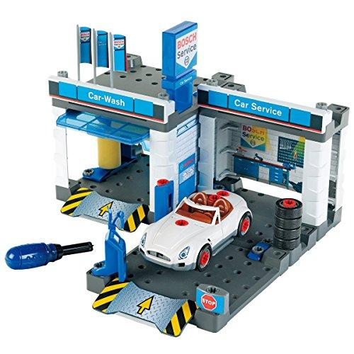 duplo waschanlage Theo Klein 8647 - BOSCH Autowerkstatt mit Waschstraße, Spielzeug
