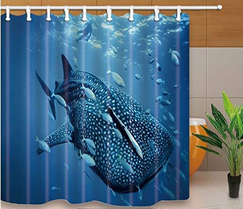 Design Tende da Doccia Bagno di Mare Screen Home Decor Tessuto in Poliestere Impermeabile E Muffa Prova con Ganci in Plastica (W) 180x(H) 180cm