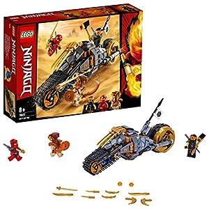 LEGO Ninjago - Gioco per Bambini La Moto da Cross di Cole, Multicolore, 6250872  LEGO