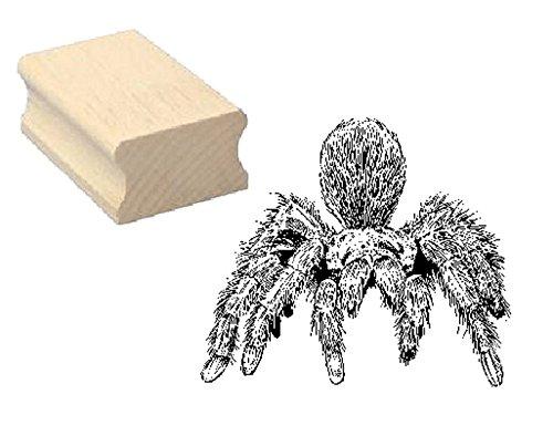 Stempel Holzstempel Motivstempel « VOGELSPINNE » Scrapbooking - Embossing Kinderstempel Tierstempel Spinne Terrarium Zoo Tierpark