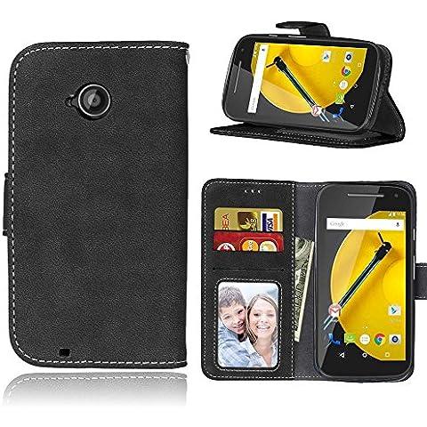 Cozy hut Per Motorola Moto E 2. Generation(4,5 zoll) Nero