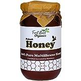 Organic Pahadi Honey by FirstBud Organics -500 gm | Raw Honey | Wild Flora Honey |Unprocessed l Unpasteurized l No Artificial Flavor