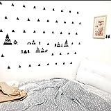 LEELIYA Hill Aufkleber Geometrie Berge Wohnkultur Nordischen Stil Berg Wandaufkleber Für Kinderzimmer Vinly Baby Wandaufkleber