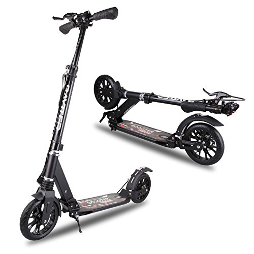 baytter faltbar kinderscooter kinderroller cityroller f r kinder ab 14 jahre und erwachsene mit. Black Bedroom Furniture Sets. Home Design Ideas