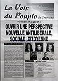 VOIX DU PEUPLE DE TOURAINE (LA) [No 3067] du 31/05/2002 - REINVENTER A GAUCHE - OUVRIR UNE PERSPECTIVE NOUVELLE ANTILIBERALE SOCIALE CITOYENNE - NON A LA REVANCHE SOCIALE - LA CITATION PAR MARIE-GEORGE BUFFET - SOMMAIRE - L'UTILE ACTION DES DEPUTES COMMUNISTES - LA REDUCTION D'IMPOTS DE L'ACTUEL GOUVERNEMENT VA BENEFICIER A MOINS DE 5% DES CONTRIBUABLES - LE GOUVERNEMENT RAFFARIN TRAVAILLE A SON PROPRE AVENIR - CHANGER LA VIE QUOTIDIENNE DES GENS - VIE INTERNATIONALE - NON MONSIEUR BUSH LE MOND
