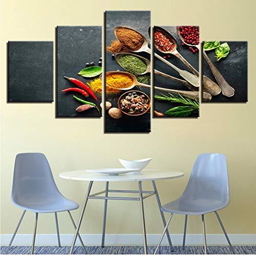 LTTGG frameless Marco de la imagen para la sala de estar decoración...