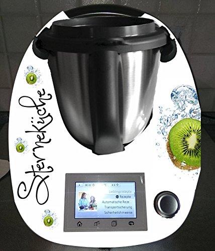 Aufkleber passend für Thermomix TM 5 Kiwi - Fünf-sterne-küchenmaschine